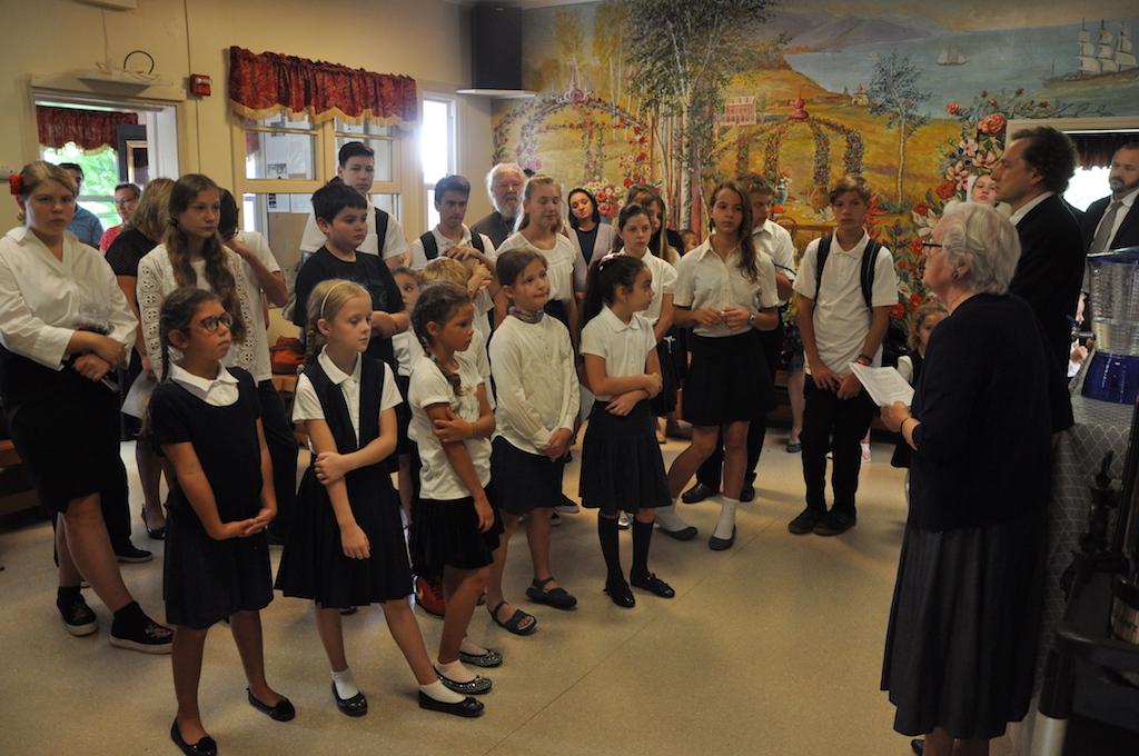 Татьяна Алексеевна говорит речь